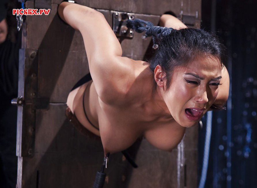 slave girl crying in pain
