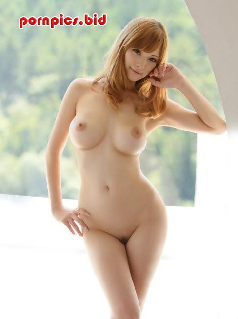 redhead Asian with hourglass figure