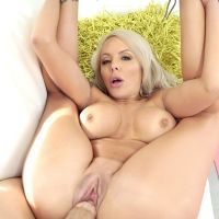 long cock in shaved pussy milf