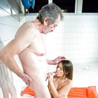 rest granddaughter grandfather ended Blowjob