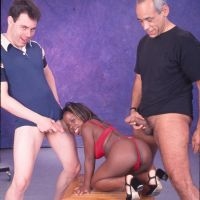 jerk off to black midget
