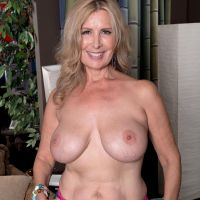 half-naked aunt at the age of 50 years