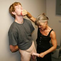lustful mother-in-law fingering her son-in-law