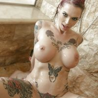 milf with tattoo hot chest