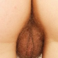 hairy pubic area girls closeup
