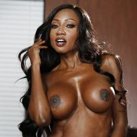 black Mature black woman