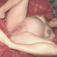 personal pregnant shaved pussy
