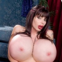 pornstar with mega huge Tits