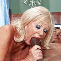 cock in big mouth woman