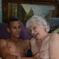 porn old grandma and grandson home